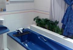 Guinea Fowl Bathroom