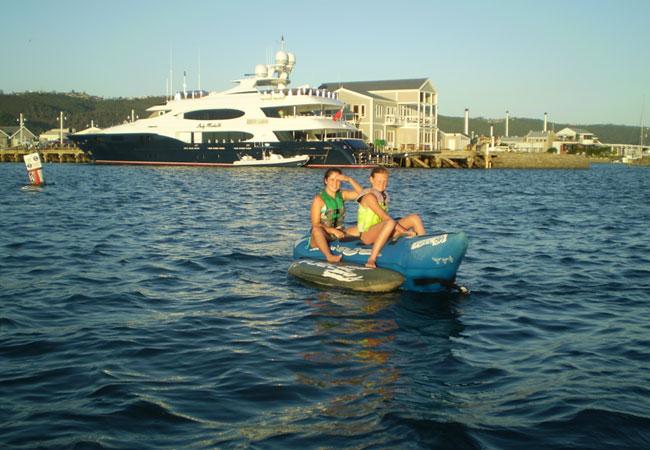Fun on the knysna lagoon