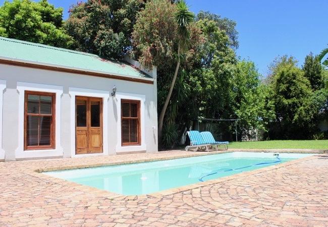 Outdoor Pool and Garden