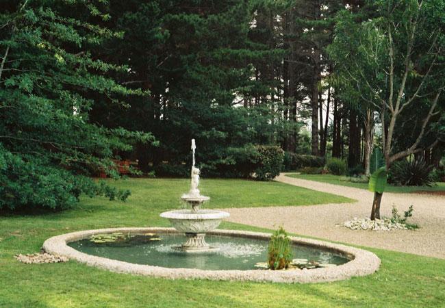 Fountain at main entrance