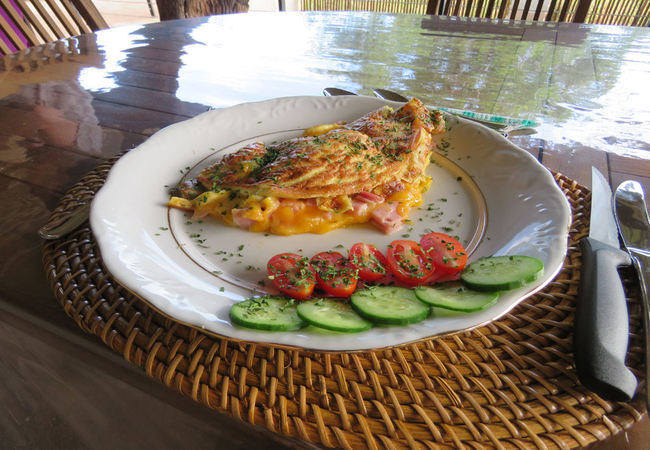 Breakfast additional fee