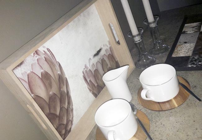 Nguni tea and coffee