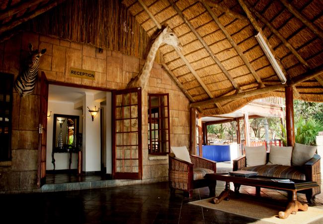 Mountain Lodge Reception