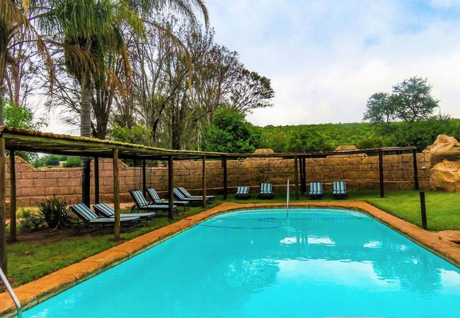 Pool at Zebra Stables