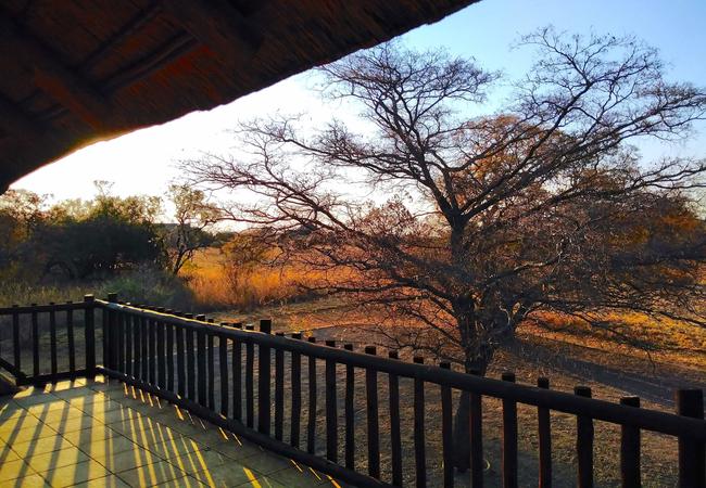 Balcony Left View