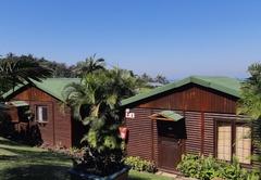 Frangipani Log Cabin