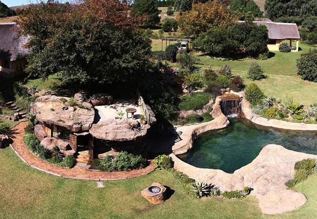 Large rock pool at Inkunzi Cave
